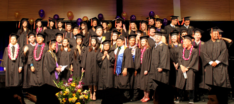 HCDE 2015 Bachelor of Science graduates