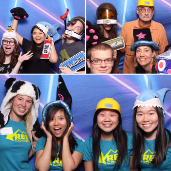 View photos from the 2016 Open House Photo Booth
