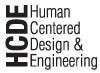 Human Centered Design & Engineering (HCDE) logo