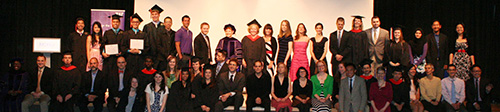 The Department of Human Centered Design & Engineering (HCDE) Class of 2012