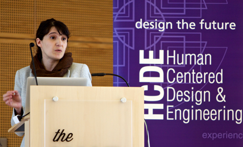 Daniela Rosner, assistant professor in Human Centered Design & Engineering