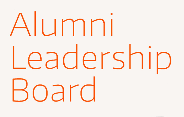 Alumni Leadership Board text graphic