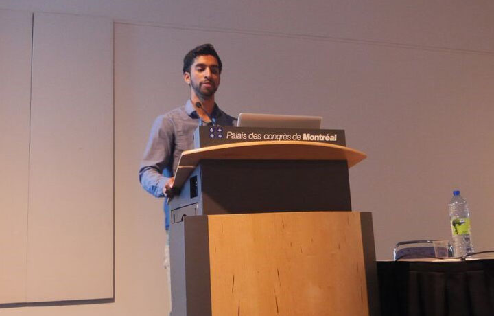 Michael Fernandes at CHI
