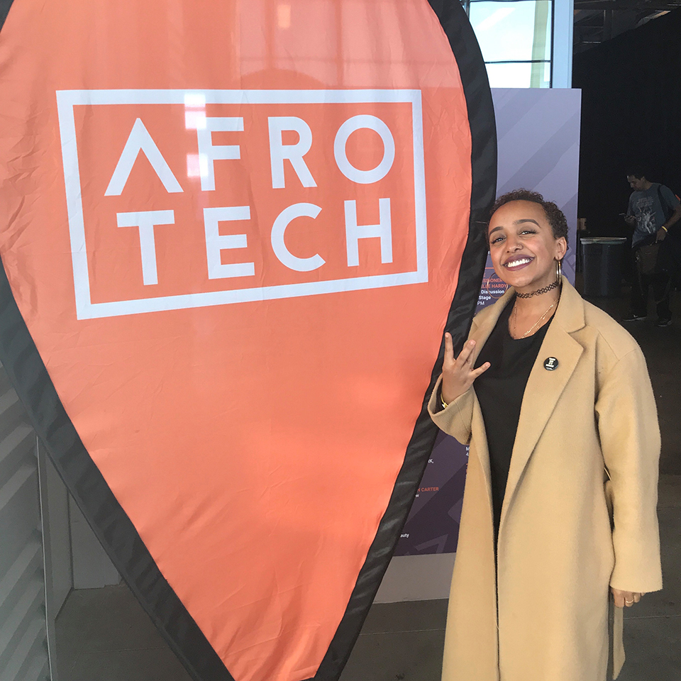 Tsewone at Afrotech conference